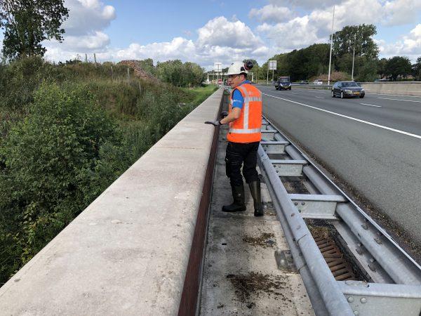 Kunstwerken inspecteren inspectie brug